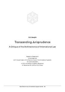 transcending jurisprudence